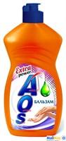 AOS 450мл Бальзам, средство для мытья посуды