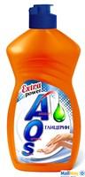Средство для посуды AOS 450мл Глицерин