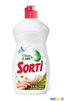 Средство для посуды SORTI Капля 450мл бальзам с экстрактом ромашки