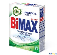Стиральный порошок BIMAX 400г автомат Белоснежные вершины