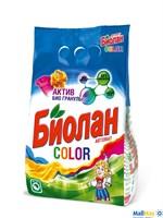 Стиральный порошок БИОЛАН 2400г автомат Color