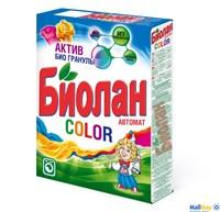 Стиральный порошок БИОЛАН 350г автомат Color