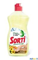 Средство для посуды SORTI Нежность рук 1000мл Череда и облепиха