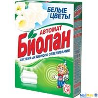 Стиральный порошок БИОЛАН 350г автомат Белые цветы