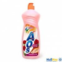 AOS 1000мл Масло розы, средство для мытья посуды