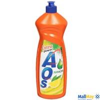 Средство для посуды AOS 900мл Лимон