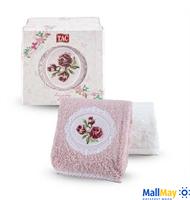 Подарочный набор полотенец TAC, с вышивкой/махровый, 480 г/м2  ENDO