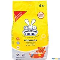 Детский стиральный порошок Ушастый НЯНЬ, 6 кг
