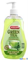 UNICUM 550мл для посуды, фруктов и овощей Зеленый чай (Азиатская коллекция)