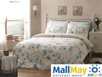 Код: 4082-26716 Комплект постельного белья TAC/RANFORCE/семейный Sienna, голубой