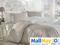 10074 Комплект постельного белья DANTELA VITA сатин с вышивкой ELEGANCE