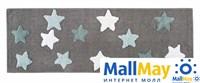 STAR Gri (серый) Коврик для ванной 50x90