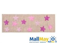 STAR Lila (лиловый) Коврик для ванной 50x150