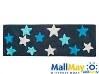 STAR Mavi (голубой) Коврик для ванной 50x90