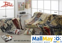 Плед+подушка DOLZ арт.London размер 125х155