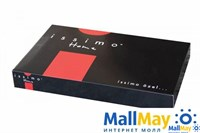SALOME Комплект постельного белья Серый, органический хлопок с кружевом, 145ТС,  евро