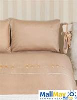 Комплект постельного белья 'BALLET', цвет: телесный/золотой