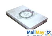 9286 Комплект постельного белья DANTELA VITA сатин с вышивкой VERONICA белый