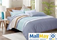 Сатин двухспальный Комплект постельного белья Dome сатин пигмент 2 (70*70) SDP 1877  H-58