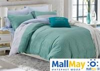 Сатин двухспальный Комплект постельного белья Dome сатин пигмент 2 (70*70) SDP 1877  H-49