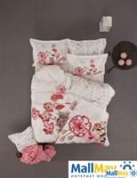 Постельное Белье Karaca Home Ранфорс Пано Complete 1,5 Сп. 180X230 Linda (Белый)