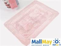 LIZZ Pembe (розовый) Коврик для ванной 55x72