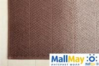Коврик 'ART1', р-р: 65 х 90 см, цвет: бежевый/коричневый