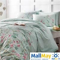 Код: 4080-34516 Комплект постельного белья TAC/RANFORCE/1,5 сп. Flores, мятный