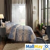 Код: 4082-34515 Комплект постельного белья TAC/RANFORCE/семейный Elenor, голубой