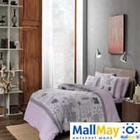 Код: 4082-34524 Комплект постельного белья TAC/RANFORCE/семейный Elora, лиловый