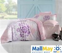 256/25 Постельное белье 'ALTINBASAK' ILMA Сатин (200x220) см Розовый