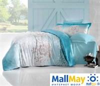 256/25 Постельное белье 'ALTINBASAK' ILMA Сатин (200x220) см Голубой