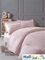 ELSA Комплект постельного белья pembe/pink/розовый, жаккард, 200ТС,  евро
