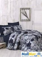 AURA Комплект постельного белья сатин, 200ТС, , евро