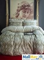 EOS Комплект постельного белья  сатин, 200 ТС, 50% модал / 50% хлопок, евро