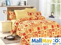 Комплект постельного белья, Amore Mio 4668 BZ Robert EURO P combo