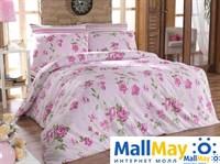 6065 Комплект постельного белья  COTTON LIFE 1,5 сп.  ROSELINDA розовый