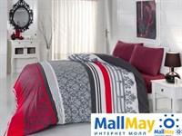 6147 Комплект постельного белья  COTTON LIFE 1,5 сп.  ARMADA красный