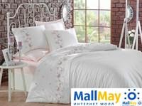 9341 Комплект постельного белья DANTELA VITA сатин с вышивкой ROSA
