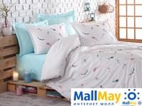 9346 Комплект постельного белья DANTELA VITA сатин с вышивкой ORIELD