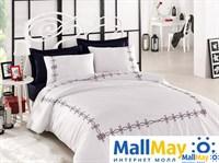 Комплект постельного белья DANTELA VITA сатин с вышивкой VIOLA