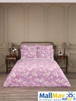 Сакура роз. Комплект постельного белья 145х200-2/230х250/50х70-2, 5пр., хл/сат.