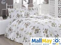 Код: 1108-84901 Комплект постельного бельяBRIELLE/RANFORCE/1,5сп/4530 V1, white/brown