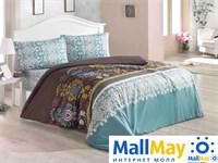 Код: 1108-84893 Комплект постельного бельяBRIELLE/RANFORCE/1,5сп/603 V2, turquoise