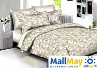 Комплект постельного белья, Amore Mio 86582 BZ Delhi DOUBLE Sr
