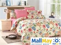 Комплект постельного белья, Amore Mio 4673 BZ Veronica EURO P combo