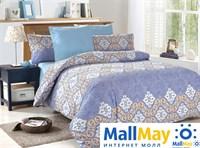 Комплект постельного белья, Amore Mio 4674 BZ Ksenia EURO P combo
