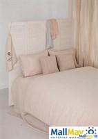 """Комплект постельного белья """"BEDROOM LINE"""", 100% лен, цвет: бежевый"""