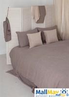 """Комплект постельного белья """"BEDROOM LINE"""", 100% лен, цвет: льняной"""