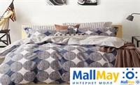 Сатин семейный Комплект постельного белья Dome сатин пигмент 2(50*70) SDP 15/2 57 C027